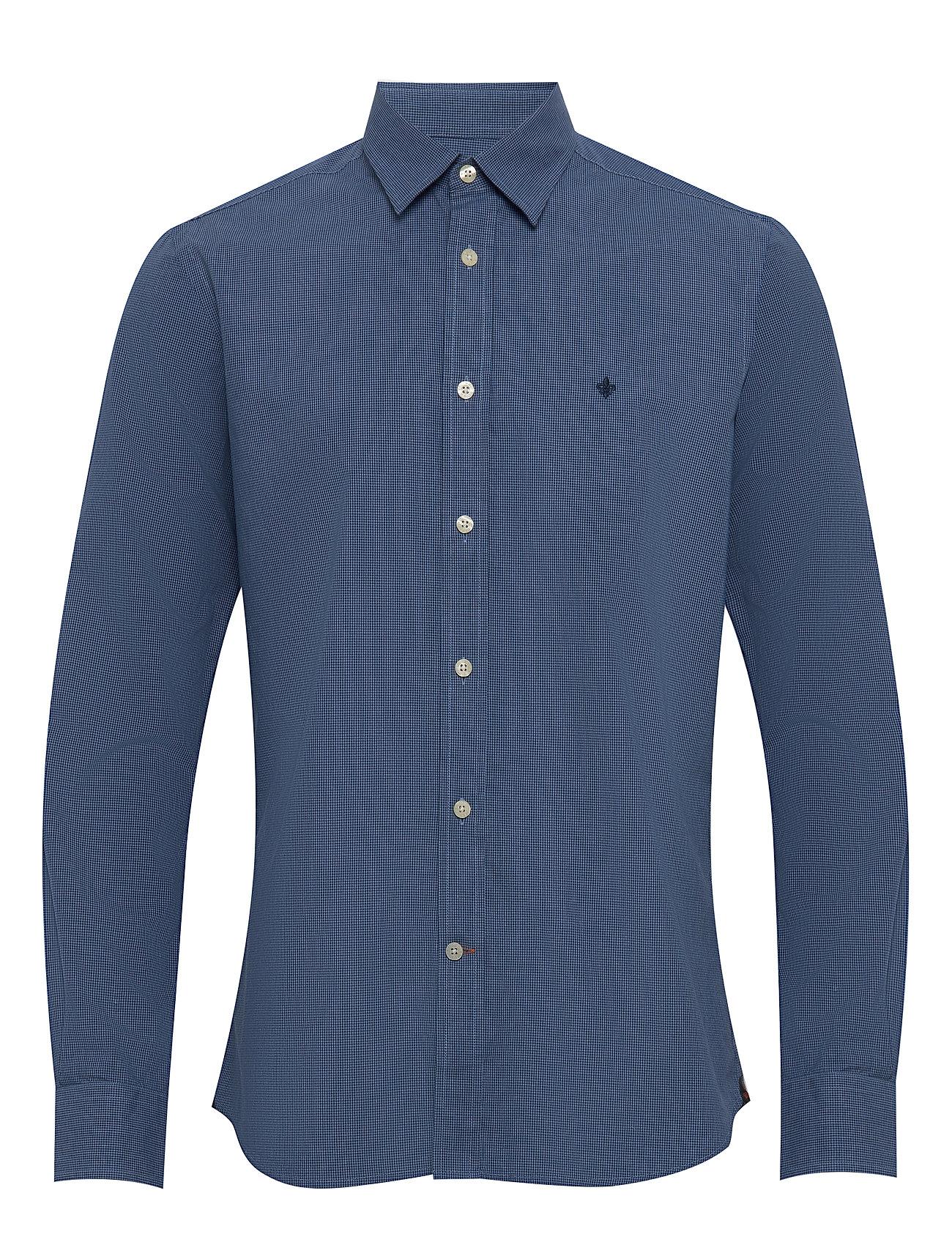Morris Daniele Classic Collar Shirt - BLUE