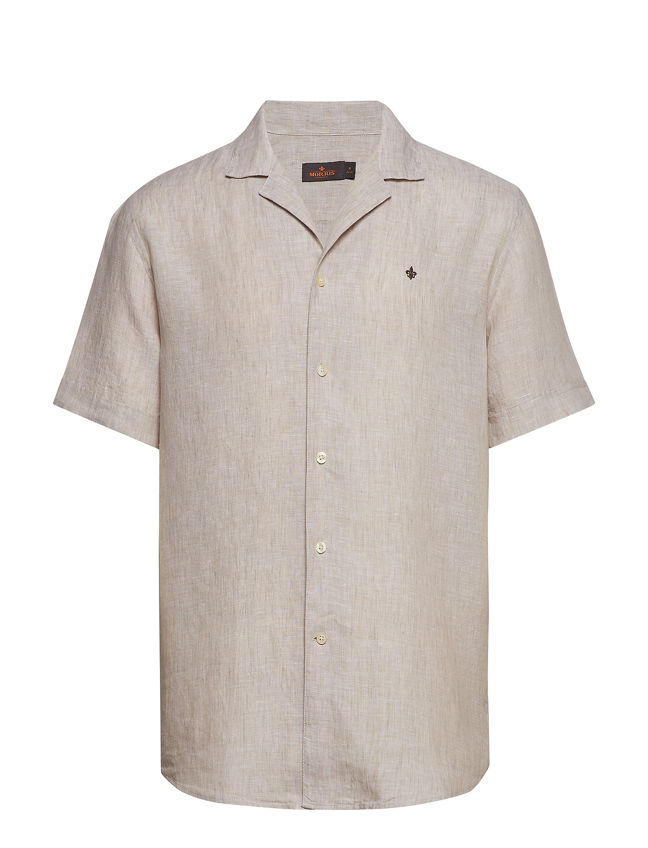 Morris Harper Bowling Linen Shirt - OLIVE