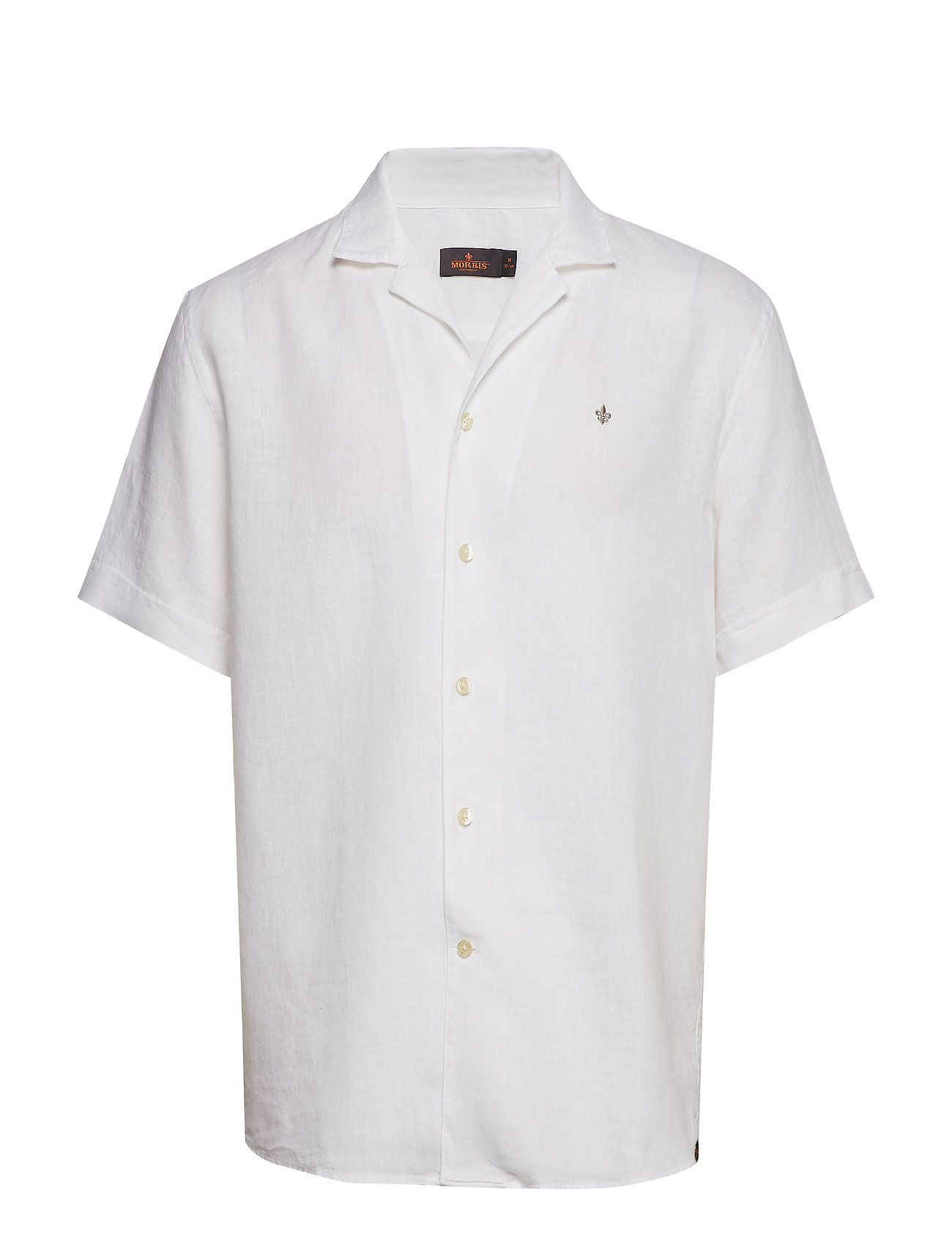 Morris Harper Bowling Linen Shirt - WHITE
