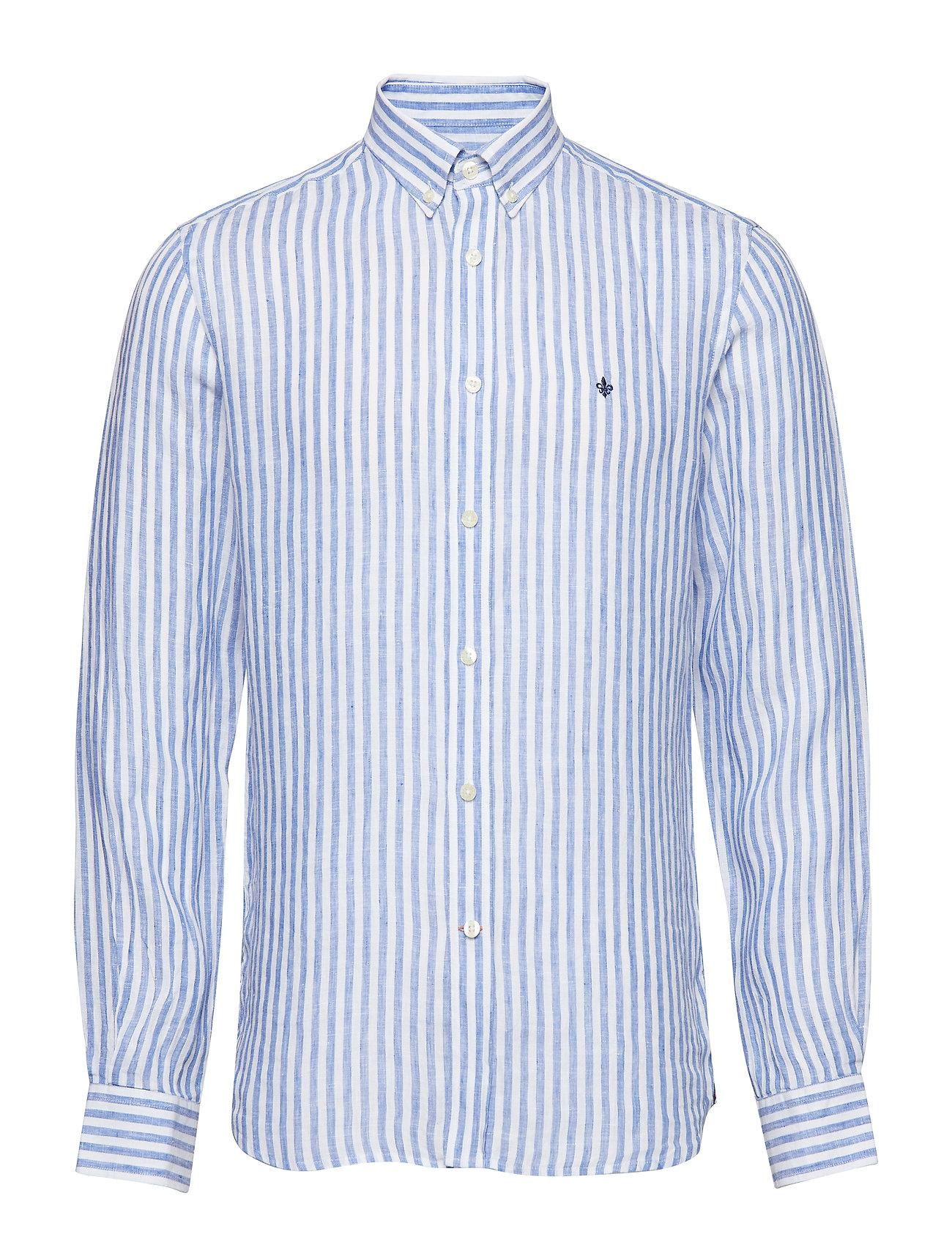 Morris Emanuel Button Down Shirt - BLUE
