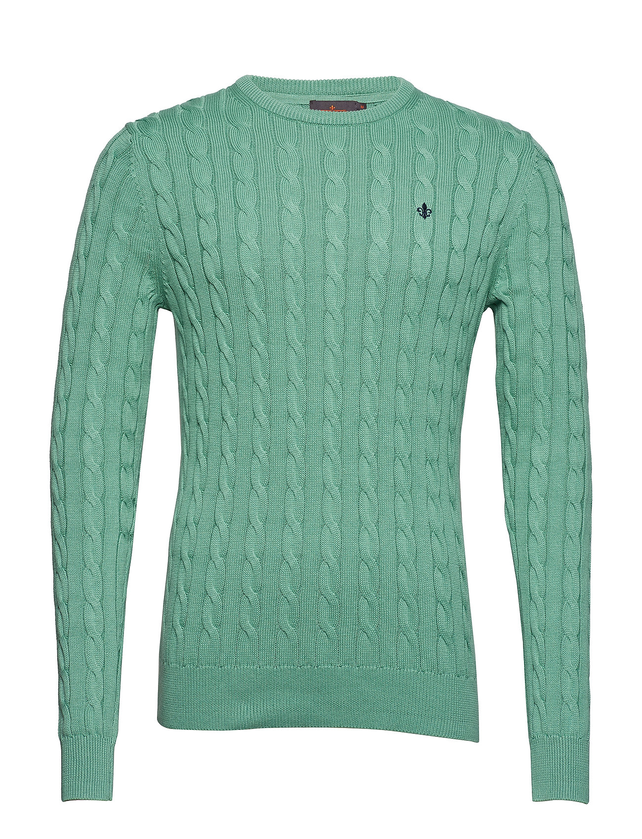 Morris Pima Cotton Cable - GREEN