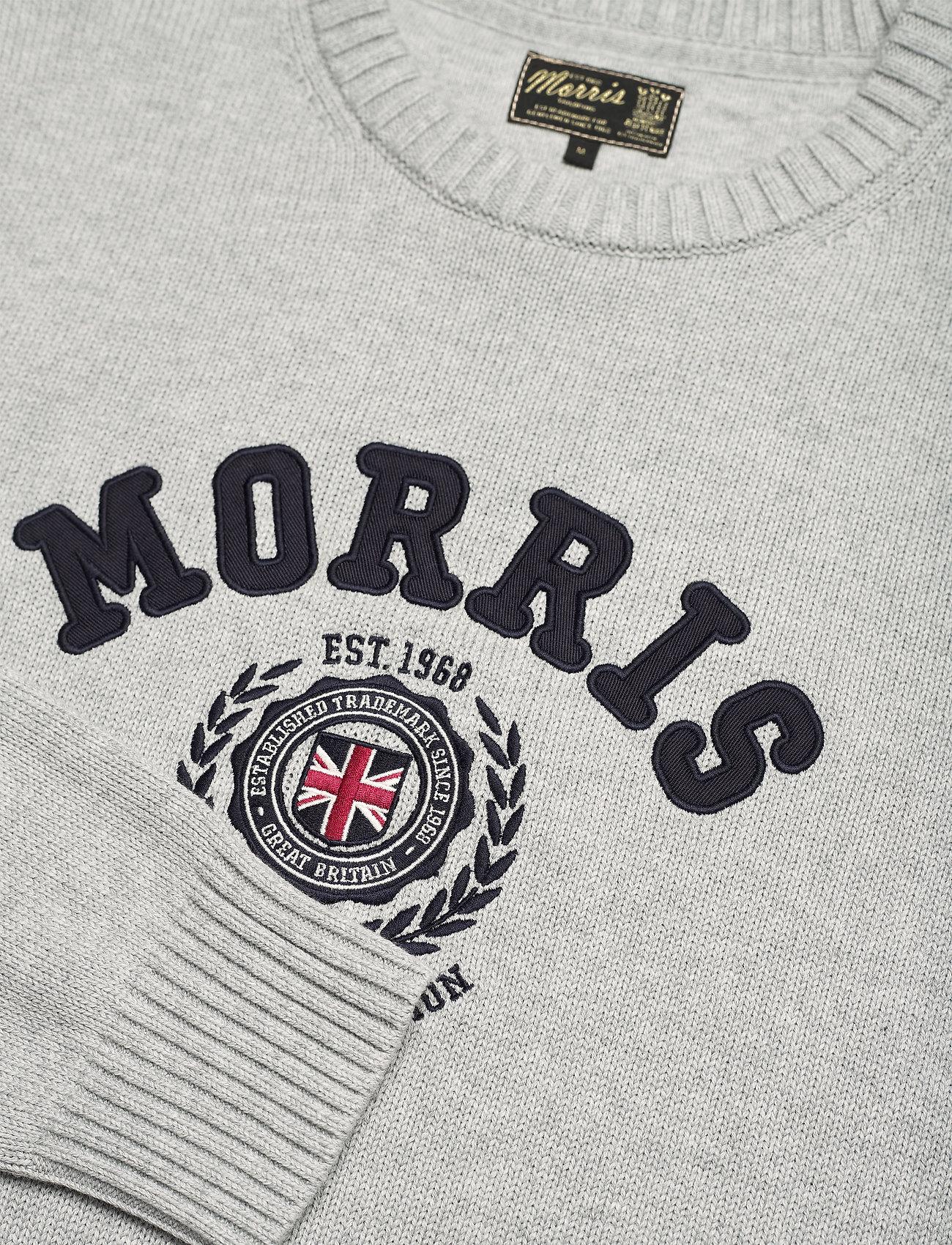 Morris Wren Oneck - Strikkevarer GREY - Menn Klær