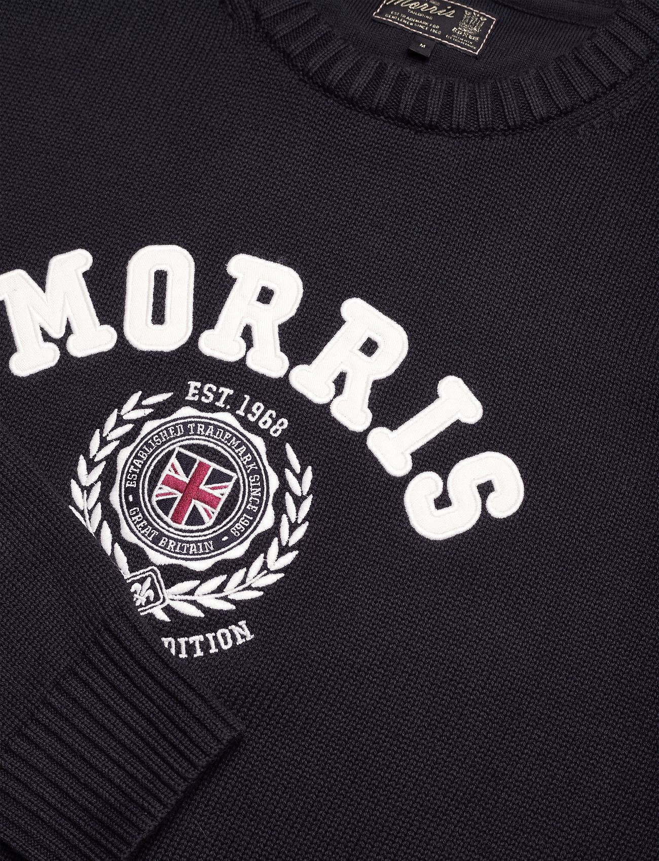 Morris Wren Oneck - Strikkevarer OLD BLUE - Menn Klær