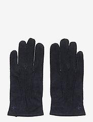 Morris - Morris Suede Gloves - rękawiczki - blue - 0