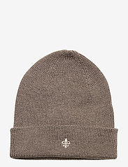 Morris - Wells Beanie - bonnet - brown - 0