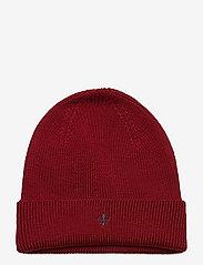 Morris - Wells Beanie - bonnet - red - 0