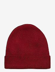 Morris - Wells Beanie - bonnet - red - 1