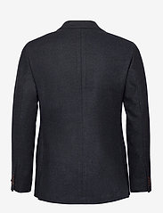 Morris - Structure Jacket - single breasted blazers - navy - 1