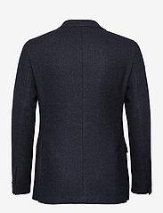 Morris - Fishbone Jacket - single breasted blazers - navy - 1
