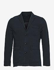 Morris - Claridge Blazer - single breasted blazers - blue - 0