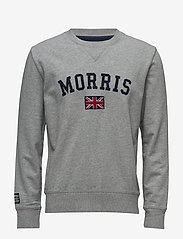 Morris - Brown Sweatshirt - sweatshirts - grey - 0