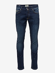 Morris - Steve Satin Jeans - skinny jeans - dk wash - 1