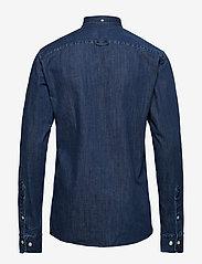Morris - Cary Grant Denim Shirt - oxford-hemden - navy - 1