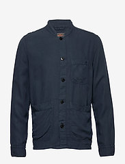 Morris - Corsoir Shirt Jacket - overshirts - blue - 0