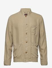 Morris - Corsoir Shirt Jacket - overshirts - olive - 0