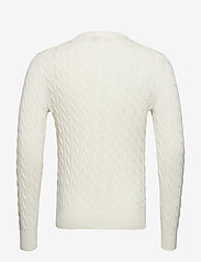 Morris - Pima Cotton Cable - basic knitwear - off white - 1