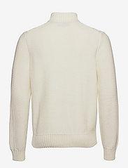 Morris - Colton Half Zip Cable - half zip - off white - 1