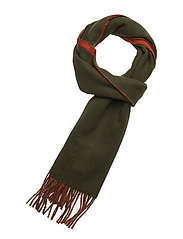 Morris Double Face Scarf - OLIVE