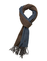 Morris Double Face Scarf - BLUE