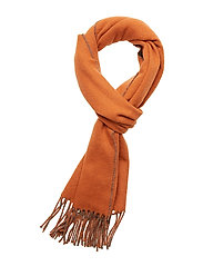 Morris Double Face Scarf - ORANGE