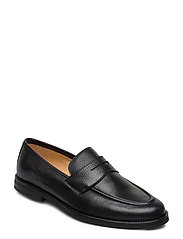 Morris Penny Loafers - BLACK