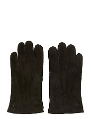 Morris Suede Gloves - BLACK