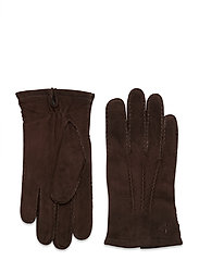 Morris Suede Gloves - BROWN