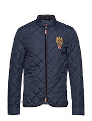 Trenton Quilted Jacket - OLD BLUE