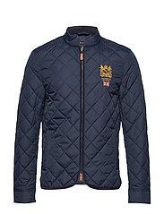 af96bde2a300 Trenton Quilted Jacket - OLD BLUE