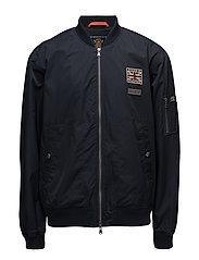 Barnes Bomber Jacket - OLD BLUE