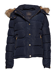 Joelle Fur Jacket - BLUE