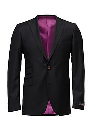 Paul Solid Suit Blazer - BLACK