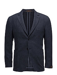 Washed Wool SB Blazer - OLD BLUE