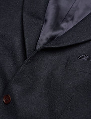 Morris - Structure Jacket - single breasted blazers - navy - 2