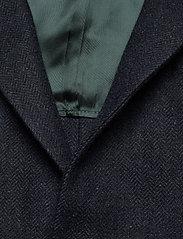Morris - Fishbone Jacket - single breasted blazers - navy - 2