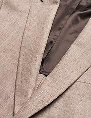 Morris - Sebastian Linen Blazer - single breasted blazers - khaki - 2