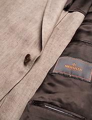 Morris - Sebastian Linen Blazer - single breasted blazers - khaki - 4