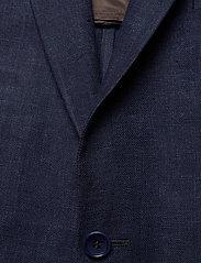 Morris - Sebastian Linen Blazer - single breasted blazers - navy - 2