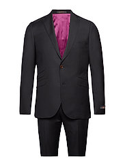 Paul Solid Suit - BLACK