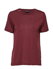 Felicia Tee - WINE RED