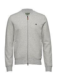 Redford Zip Sweatshirt - GREY