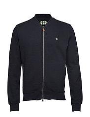 Redford Zip Sweatshirt - OLD BLUE