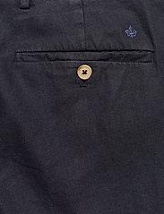 Morris - Winslow Slacks - spodnie na co dzień - blue - 4