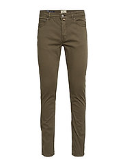 James Textured 5-pkt - OLIVE