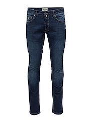 Steve Satin Jeans - DK WASH