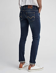 Morris - Steve Satin Jeans - skinny jeans - dk wash - 6