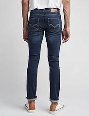 Morris - Steve Satin Jeans - skinny jeans - dk wash - 7