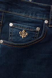 Morris - Steve Satin Jeans - skinny jeans - dk wash - 3