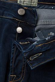 Morris - Steve Satin Jeans - skinny jeans - dk wash - 4