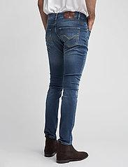 Morris - Steve Satin Jeans - skinny jeans - semi dark wash - 3